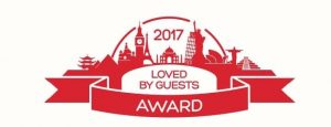 Loved by Guests 2017 Hotels-com