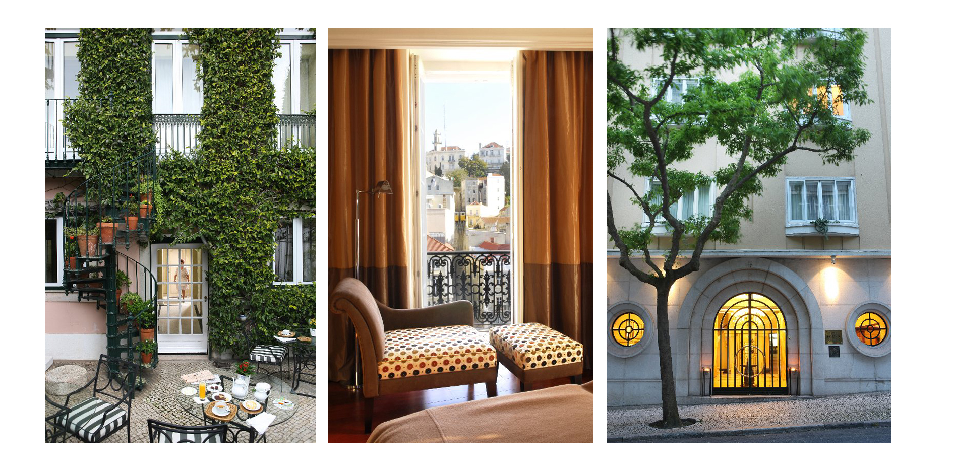 Travellers' Choice Awards 2015 - Heritage Lisbon Hotels among the best