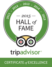TripAdvisor Hall of Fame 2015 - Heritage Lisbon Hotels