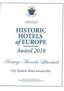Historic Hotels of Europe - Heritage Avenida Liberdade Hotel