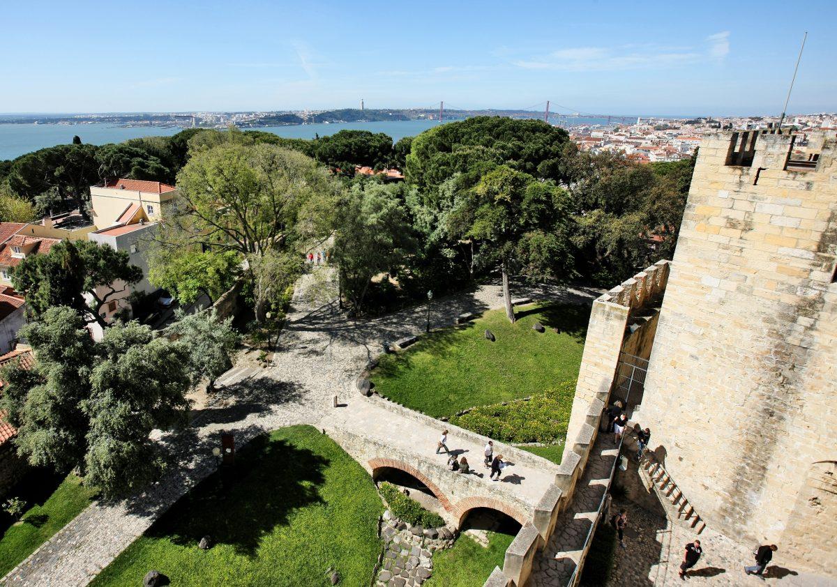 A Coroa de Lisboa: O Castelo de São Jorge.