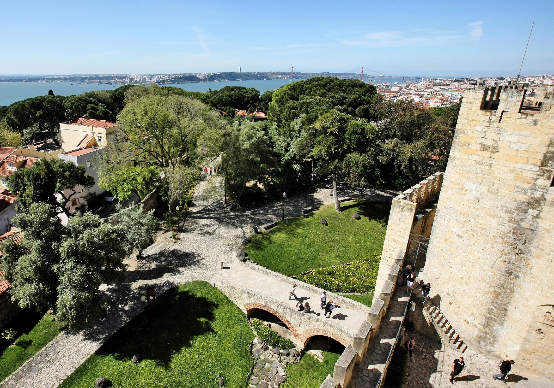 La Corona di Lisbona: il Castello di San Jorge