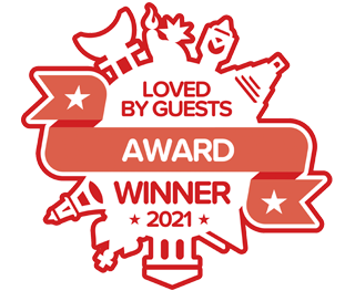 Loved by Guests 2021 - Boutique Hotel