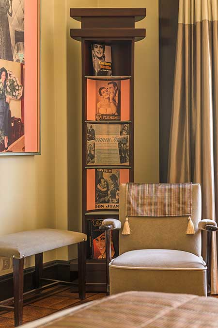 Room 44 named Carmen Sevilla, in Hotel Britania