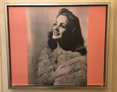 Carmen Sevilla, the spanish actress that satyed in Hotel do Império in 1954, former Hotel Britania